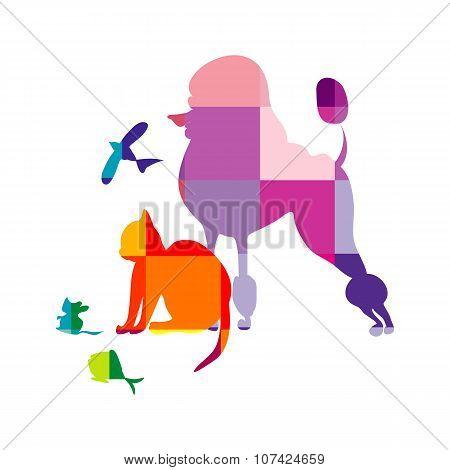 Schematical Animals Background