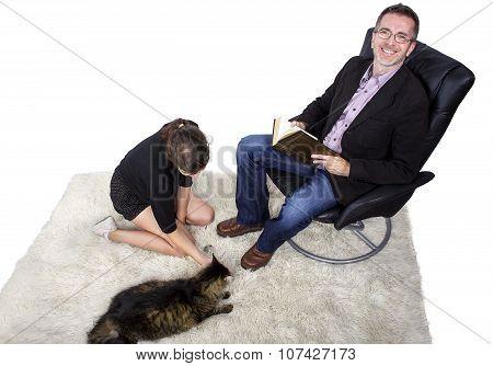 Family Pet Cat