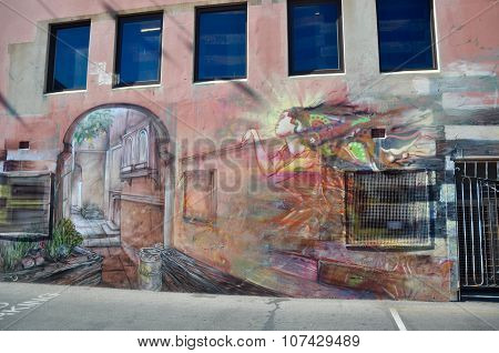 Custom Outdoor Mural in Fremantle, Western Australia
