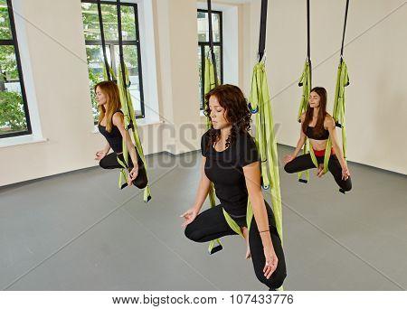 Antigravity yoga women