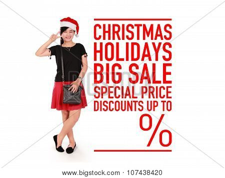 Christmas Holidays Big Sale Promo