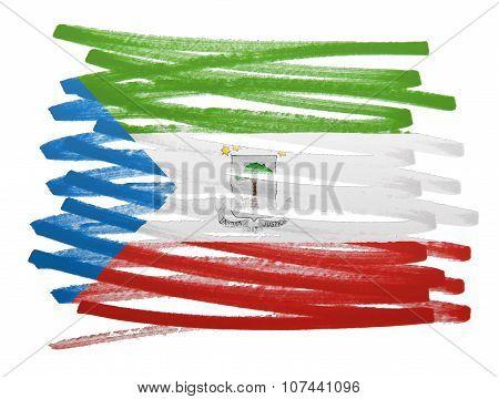 Flag Illustration - Equatorial Guinea