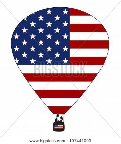 Usa Hot Air Balloon