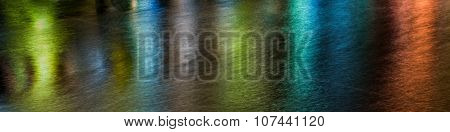 Abstract lights and water pattern