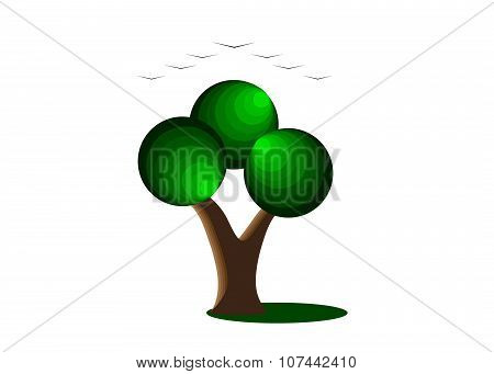 logo tree.