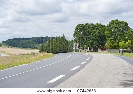 The Road From Wiesbaden (Germany) To Nancy (france)..
