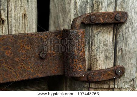 old metal fasteners