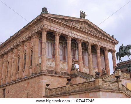 Alte National Galerie In Berlin