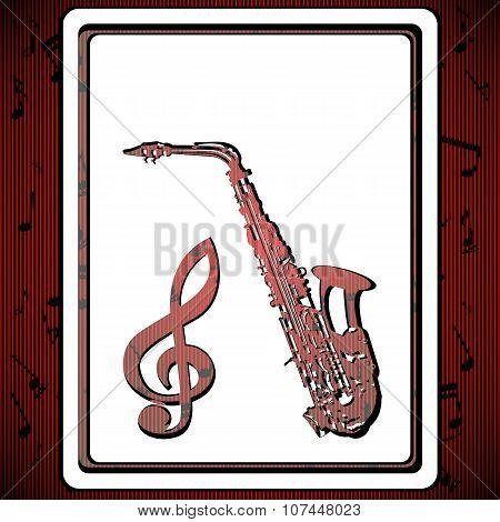 Background Music Saxophone