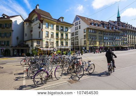 Cityscape Of Bern