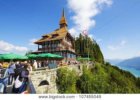 Harder Kulm Panorama Restaurant, Switzerland