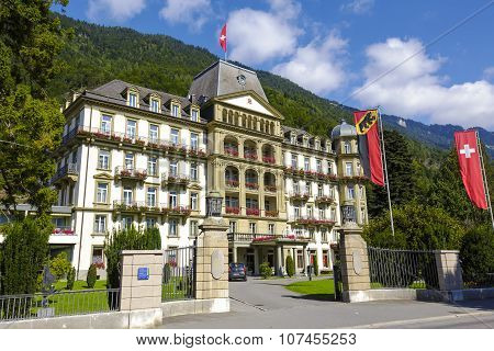 Interlaken , Lindner Grand Hotel Beau Rivage