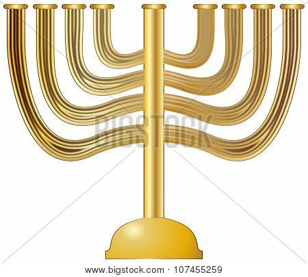 Menorah Gold