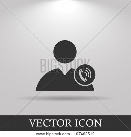 User Icon Of A Phone