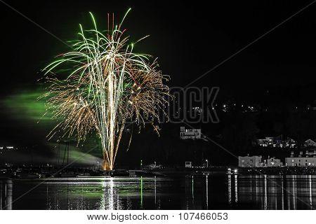 Fireworks Shaldon 2015