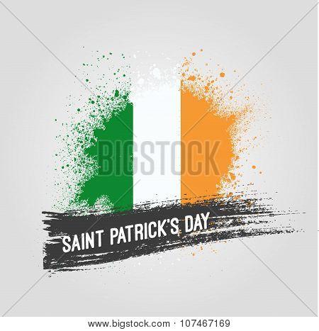 Saint Patrick background