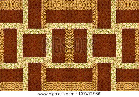 Arrangement for a quilt design