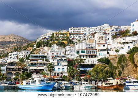 Agia Galini In Greece