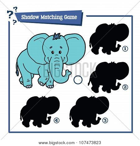 funny shadow elephant game
