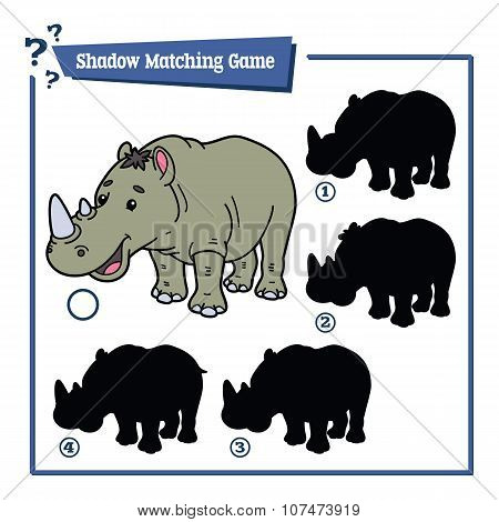 funny shadow rhino game.
