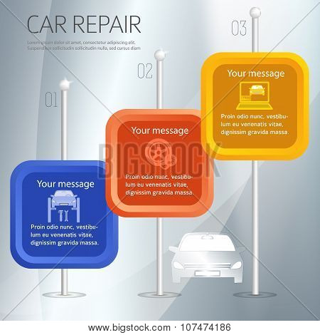 Car-repair-car-service-cover-page-booklet-silver-background