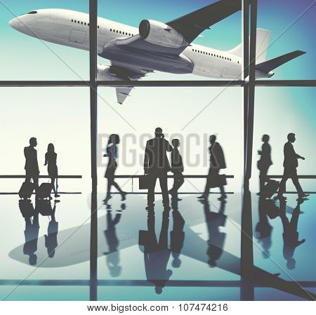 Group Business People Corporate Travel Trip Concept