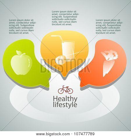 Healthy-eating-concept-background-veganism-leaflets