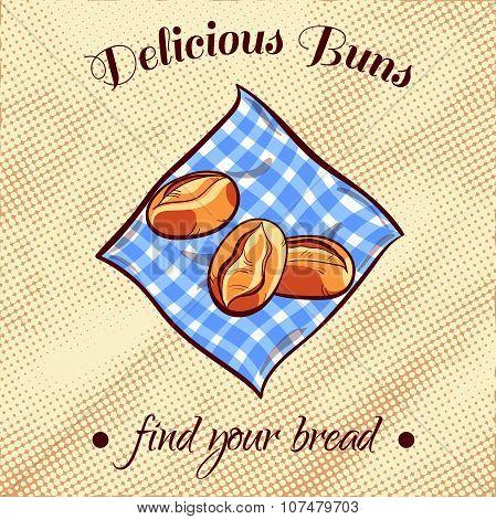 Bread On A Napkin 4