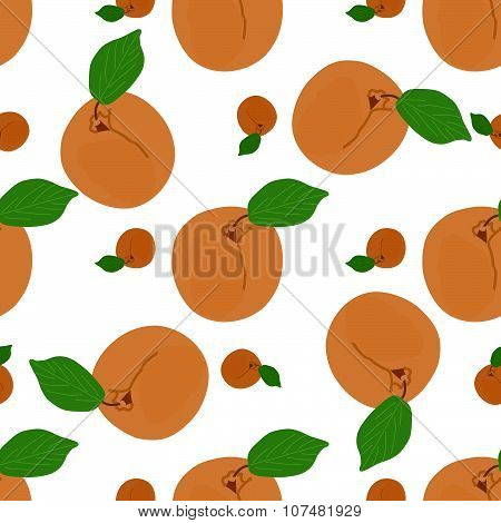 Apricots leaves background