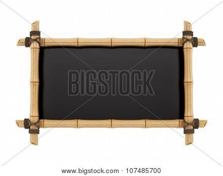 bamboo sign