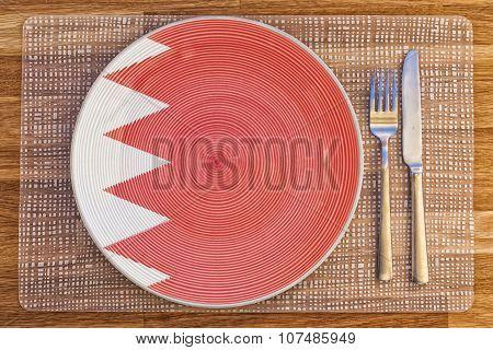 Dinner Plate For Bahrain