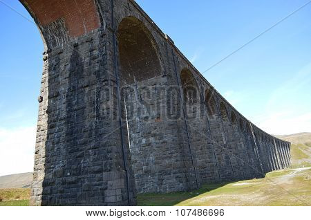Ingleton Viaduct in North Yorkshire