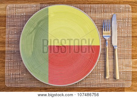 Dinner Plate For Benin