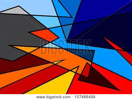 abstract background sky.