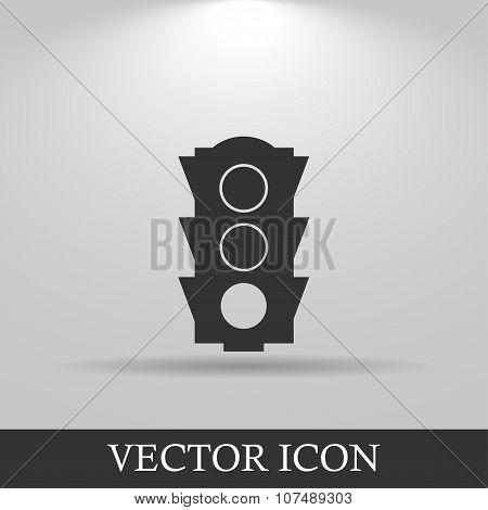 Icon, Traffic Illustration.