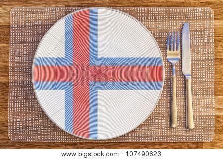 Dinner Plate For Faroe Islands