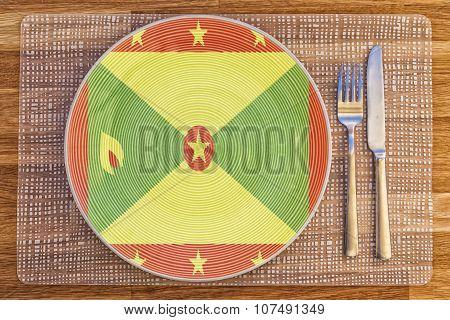 Dinner Plate For Grenada
