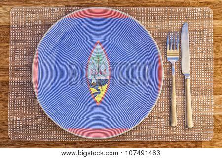 Dinner Plate For Guam