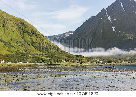 Beautiful Landscape Of Lofoten Islands