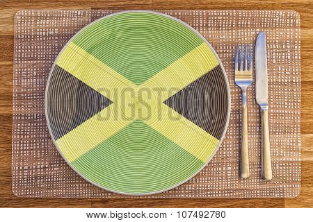 Dinner Plate For Jamaica