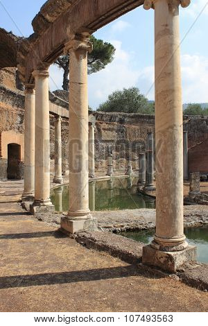 Villa Adriana near Rome