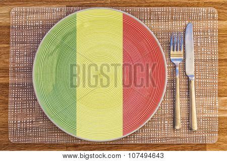Dinner Plate For Mali