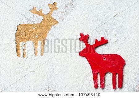 Deer On The Flour