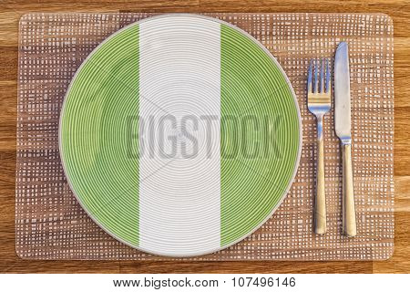 Dinner Plate For Nigeria