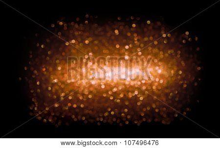 Lights Background, Abstract Blur Light Bokeh, Red Glow Lighting