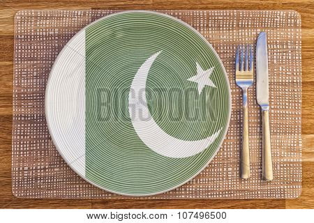 Dinner Plate For Pakistan