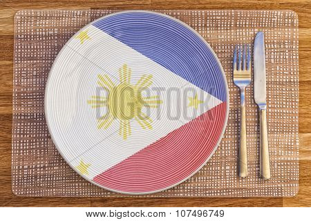 Dinner Plate For Philippines