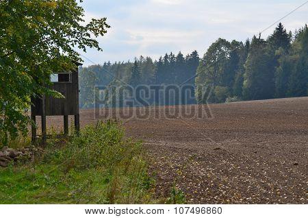 View Autumn Landscape, Southern Bohemia