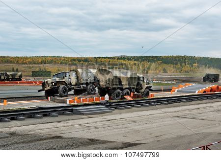 Army Trucks Ural-4320 And Ural-42306