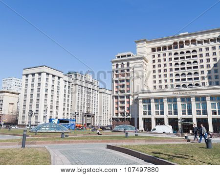 State Duma And The Four Seasons Hotel